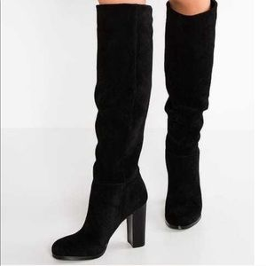 Sam Edelman Caprice Knee High Suede Boots